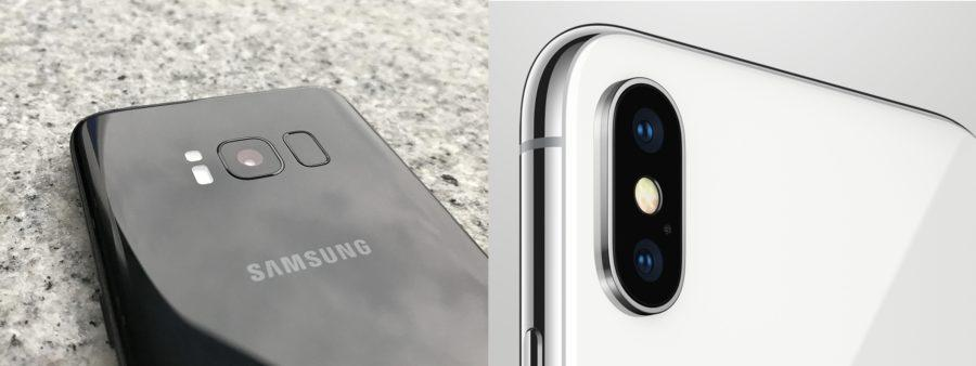 Galaxy S8 vs iPhone X